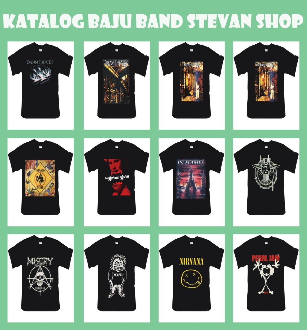 Katalog Baju Band Stevan Sumampouw Shop